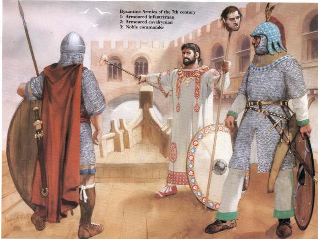 7th-century byzantine dress