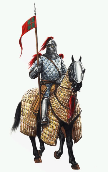 armored cavalry medieval