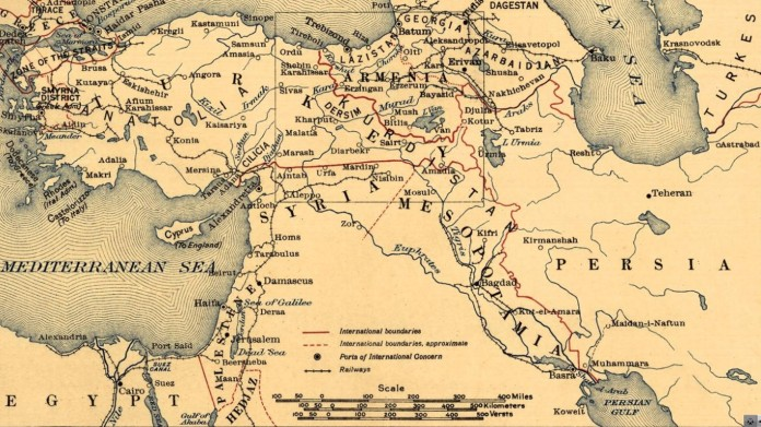 Syria per Treaty of Sèvres