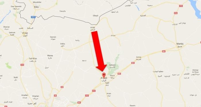 direction-of-al-bab-aleppo-syria