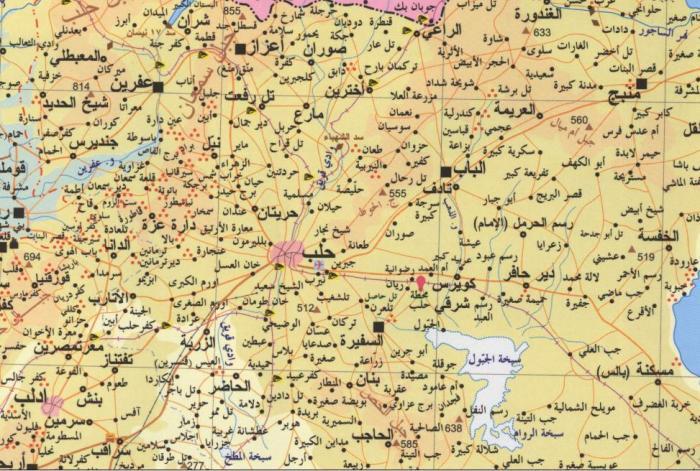 aleppo_governorate_map